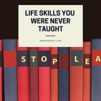 Life skills you were never taught
